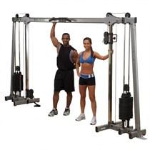 Кроссовер с двумя весовыми стеками по 72.5 кг Body Solid GDCC250