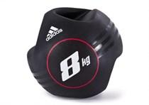 Медицинбол с ручками 8 кг Adidas ADBL-10414