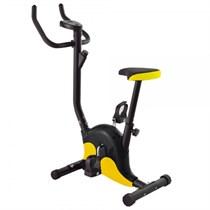 Велотренажер домашний черно-желтый DFC B8012