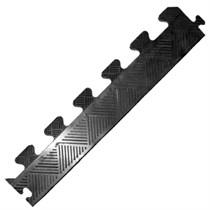 Бордюр резиновый для коврика MB Barbell толщина 20 мм, черный