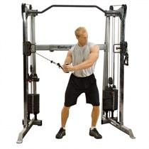 Сдвоенная блочная стойка по 72.5 кг Body Solid GDCC200