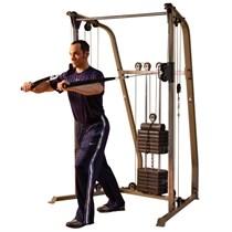Сдвоенная блочная стойка 86 кг Body Solid Best Fitness BFFT10