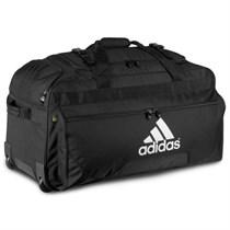 Сумка спортивная черная Adidas Traveler Back