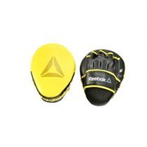 Лапы боксерские Reebok Retail Hook and Jab Pads желтые