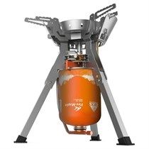 Газовая горелка c системой ППТ Fire-Maple Family New FMS-108N, пьезоэлемент металлик