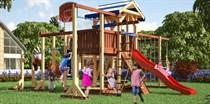 Детская площадка Савушка Семейная С-19