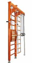 Деревянная шведская стенка Kampfer Wooden ladder Maxi ceiling