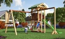 Детская площадка с шведской стенкой Савушка С-06