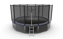 Батут с верхней и нижней сеткой Evo Jump External 16ft Lower net Blue
