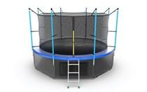 Батут с верхней и нижней сеткой Evo Jump Internal 12ft Lower net Blue