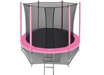 Батут с защитной сеткой Hasttings Classic Pink 2.44 м