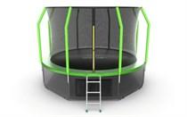 Батут с верхней и нижней сеткой Evo Jump Cosmo 12ft Lower net Green