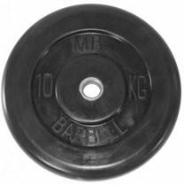 Диск обрезиненный MB Barbell Plt 10 кг 51 мм