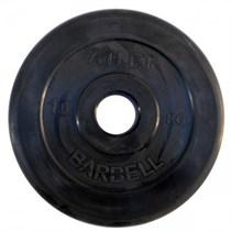 Диск обрезиненный MB Barbell Atlet 10 кг 51 мм