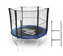 Start Line Батут 8 футов (244 см) с внешней сеткой и лестницей