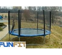 Батут Funfit 252 см с защитной сеткой