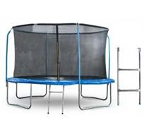 Start Line Батут 10 футов (305 см) с внутренней сеткой, держателями и лестницей