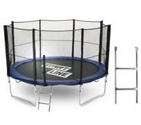Start Line Батут 12 футов (366 см) с внешней сеткой и лестницей
