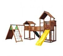Детский городок Jungle Gym Palace + Bridge Link+ Cottage + Climb