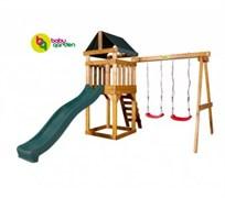 Детская игровая площадка Babygarden Play 2 зеленая