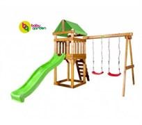 Детская игровая площадка Babygarden Play 2 светло-зеленая