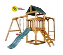 Детская игровая площадка Babygarden Play 3 зеленая