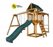 Детская игровая площадка Babygarden Play 4 зеленая