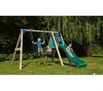 Игровая площадка Blue Rabbit деревянная Десксвинг@Deckswing (комплектация 4)