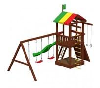 """Детская площадка для дачи """"Джунгли 4М"""""""