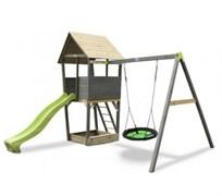 Игровая площадка EXIT Playtower + Nestswing construction