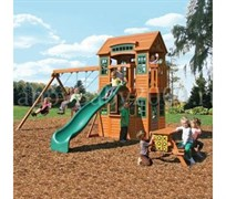 Детская игровая площадка Solowave Design Кедровый замок
