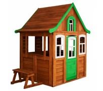 Детский домик Можга Цветочный зеленый