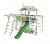 Детский домашний игровой комплекс чердак Можга ДК2Б Бирюзовый