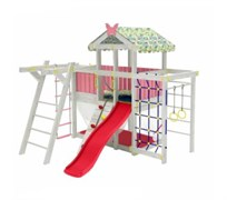 Домашний комплекс чердак Можга ДК2Р Розовый